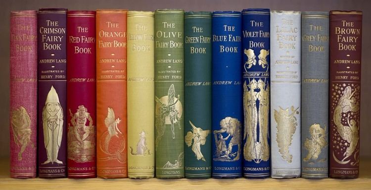 Andrew Lang's Fairy Books LILLY LIBRARY NEWS amp NOTES Andrew Lang39s Coloured Fairy Books
