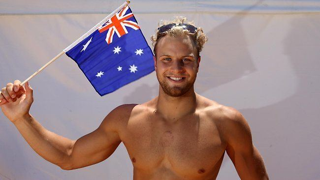 Andrew Lauterstein Party venue pure gold for swimmer Andrew Lauterstein