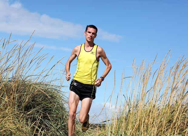 Andrew Lemoncello St Andrean and Olympic runner Andrew Lemoncello talks to