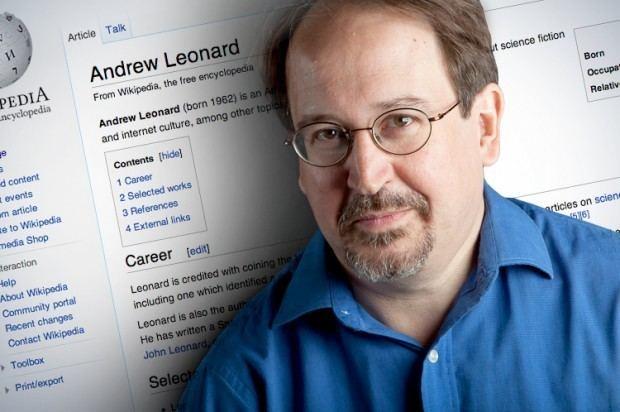 Andrew Leonard Andrew Leonard Wikipedia