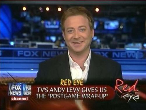 Andrew Levy Fox Newss Andy Levy Trashes Huffington Post Hacky Pieces of Garbage