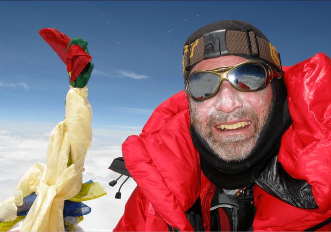 Andrew Lock Speaking with mountaineer Andrew Lock