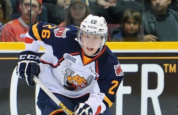 Andrew Mangiapane Colts drop Spits in Barrie OHL Blog