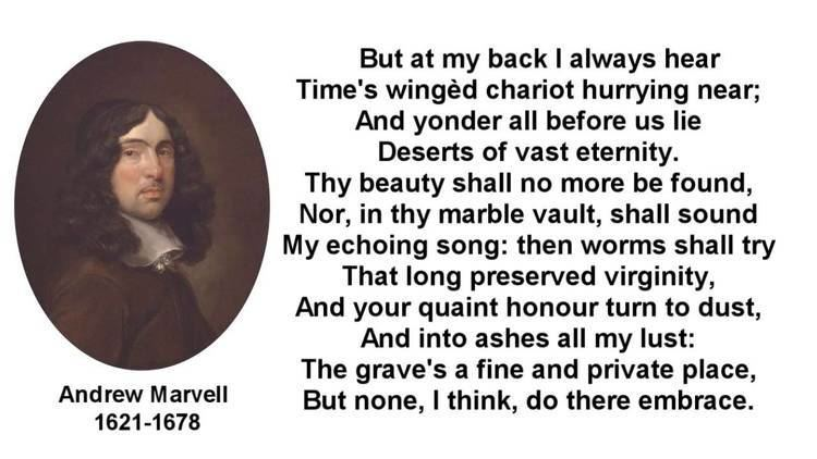 Andrew Marvell Famous Poem To His Coy Mistress by Andrew Marvell with text YouTube