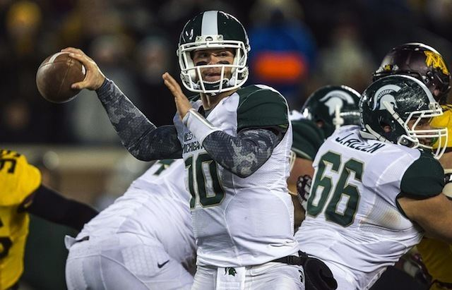 Andrew Maxwell (American football) Dantonio QB Andrew Maxwell will start for Michigan State