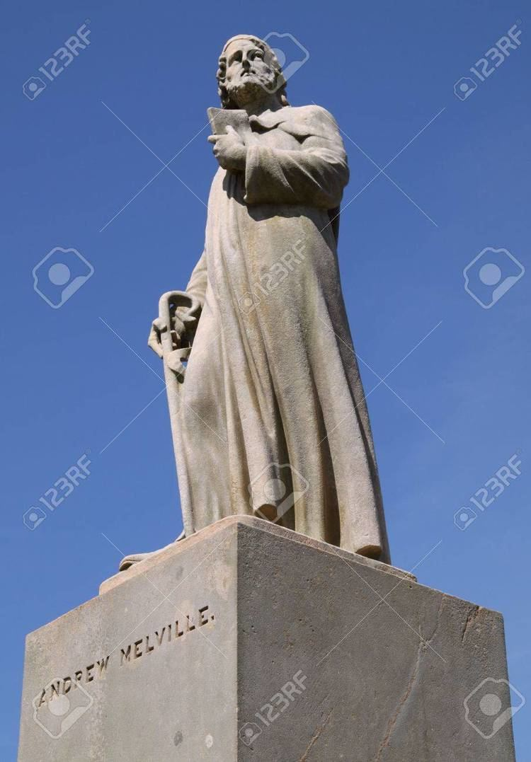 Andrew Melville Statue Of The 16th Century Scottish Theologian And