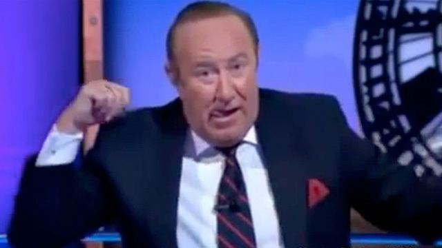 Andrew Neil Andrew Neil ridicules American conspiracy theorist on