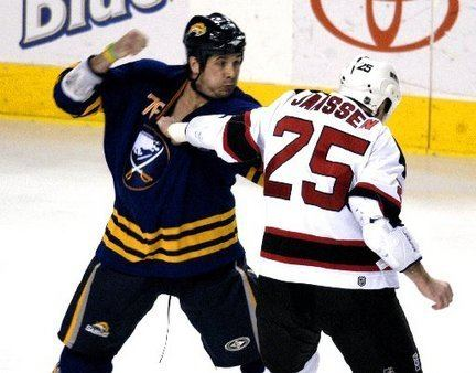 Andrew Peters Enforcer Andrew Peters determined to make NJ Devils