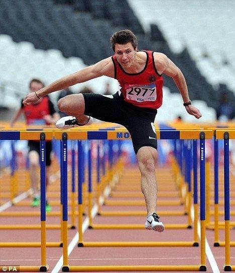 Andrew Pozzi London 2012 Olympics Andrew Pozzi makes 110m hurdles