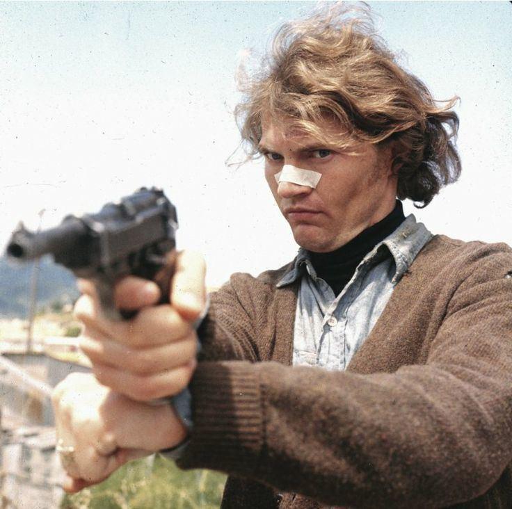 Andrew Robinson (actor) Andrew Robinson 1942 as Charles 39Scorpio Killer