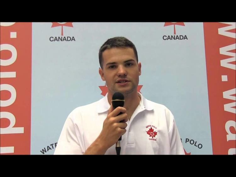 Andrew Robinson (water polo) Jr Panams Montral CoachEntraneur Andrew ROBINSON CAN YouTube