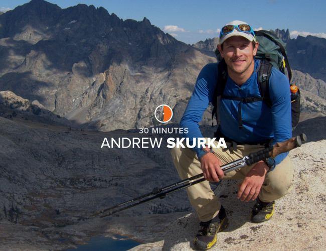 Andrew Skurka Interview Andrew Skurka Gear Patrol