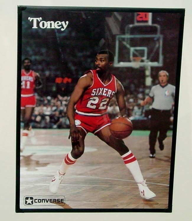 Andrew Toney Andrew Toney Dr J Memorabilia