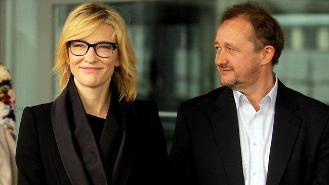 Andrew Upton Cate Blanchett and Andrew Upton The Australian