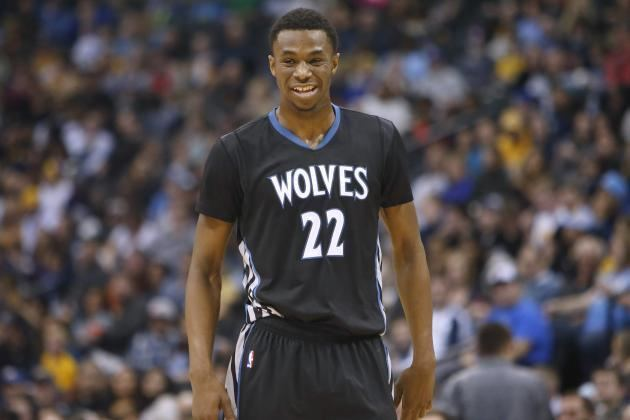 Andrew Wiggins 2015 NBA Rookie Ladder It39s Andrew Wiggins and Everyone