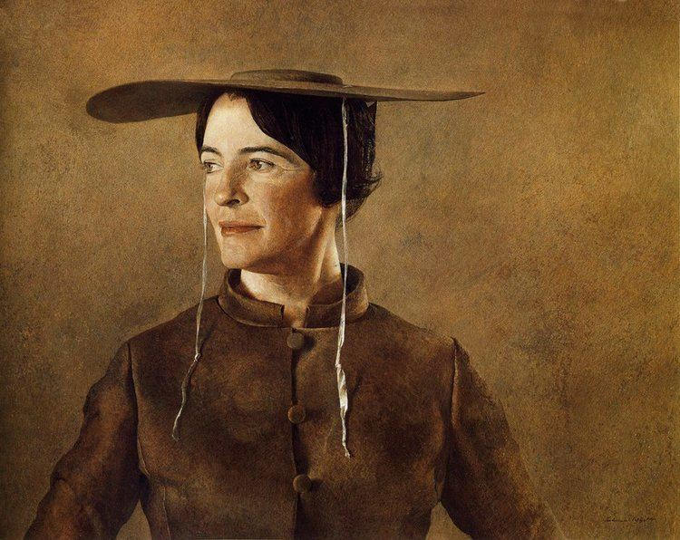 Andrew Wyeth Maga39s Daughter by Andrew Wyeth my daily art display