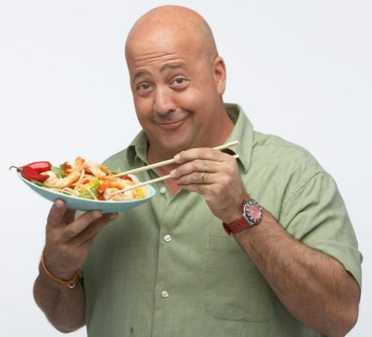 Andrew Zimmerman Travel Channel star Andrew Zimmern has a taste for
