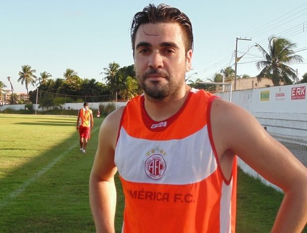 Andrey Nazário Afonso Andrey treina no AmricaRN e s assinar aps avaliao mdica