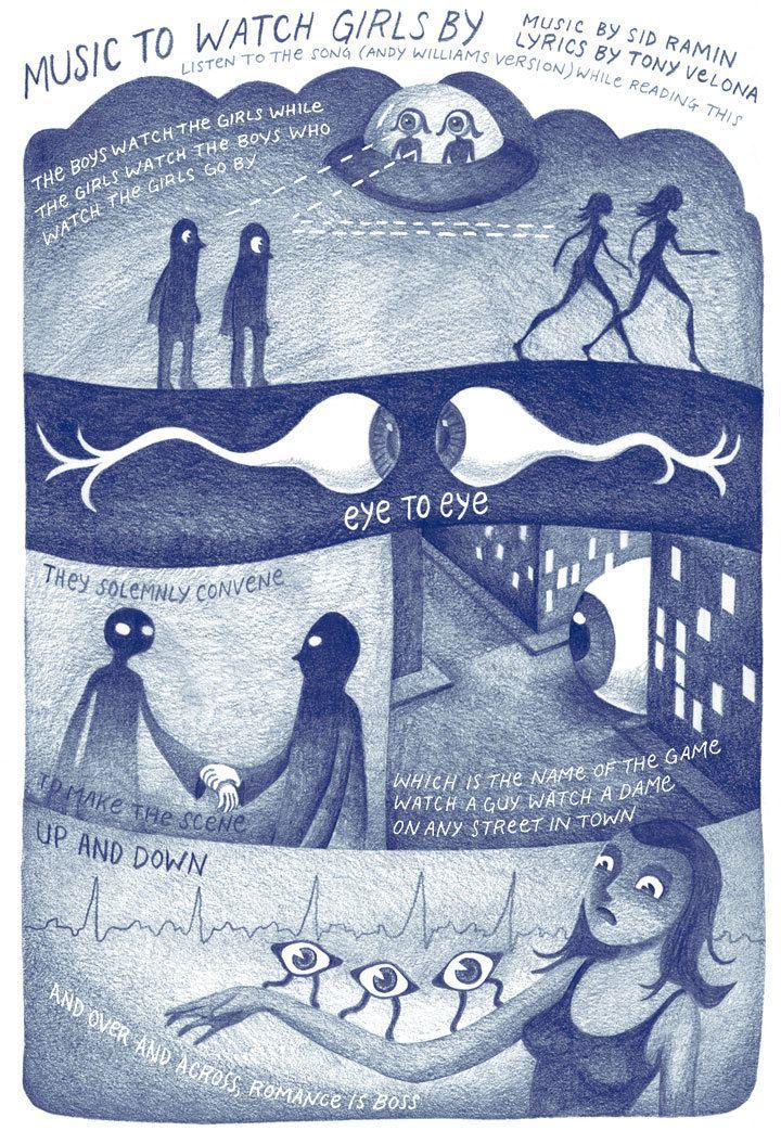 Andrice Arp Music To Watch Girls By by Andrice Arp Study Group Comic Books
