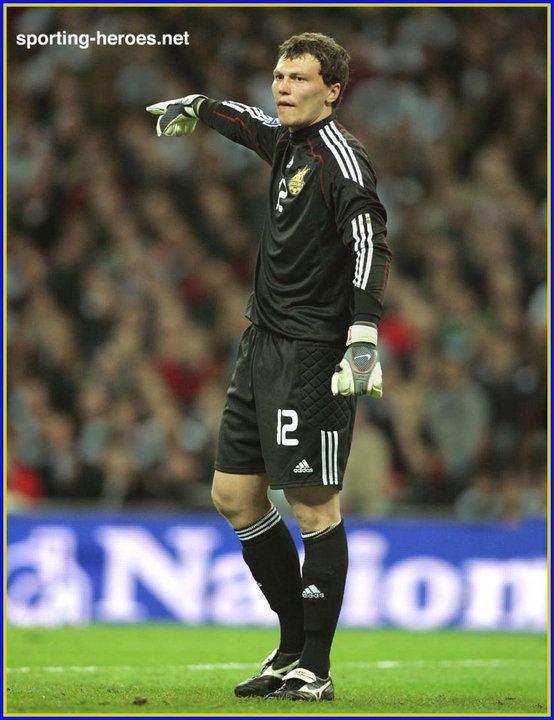 Andriy Pyatov Andriy Pyatov FIFA World Cup 2010 Qualifying Ukraine