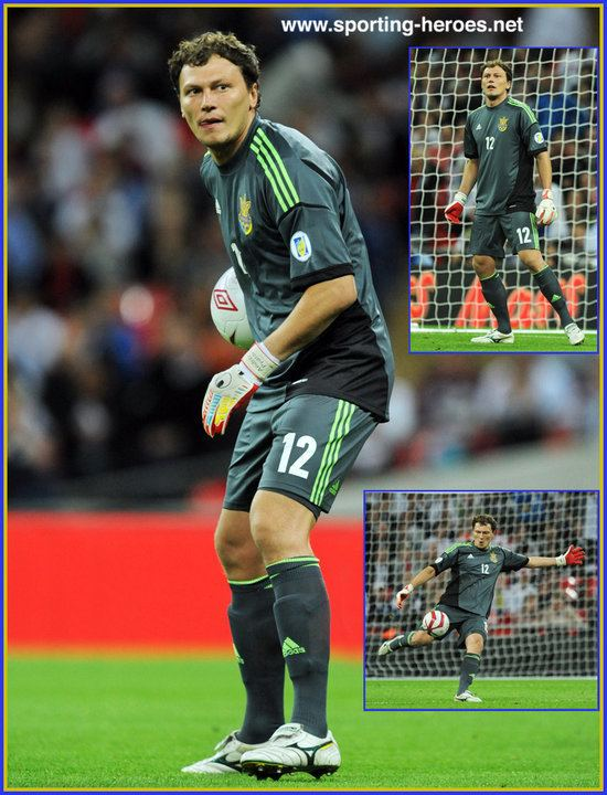 Andriy Pyatov Andriy PYATOV Euro 2012 Finals Ukraine Ukraine