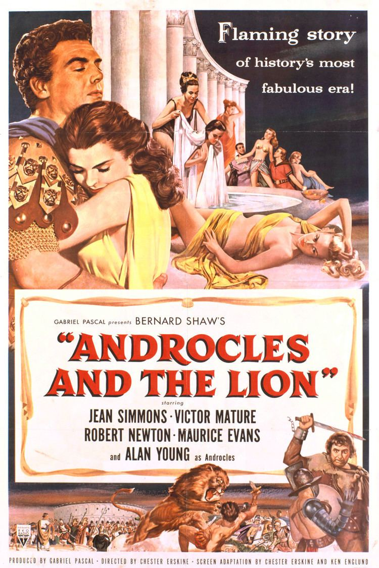 Androcles and the Lion (film) wwwgstaticcomtvthumbmovieposters5217p5217p