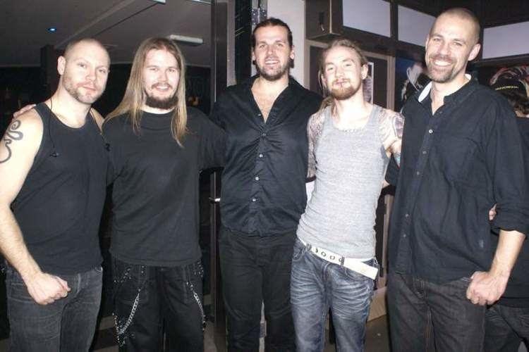 Andromeda (Swedish band) BACKGROUND MAGAZINE Concert Review Until Rain Damnation Angels