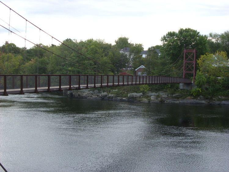 Androscoggin Swinging Bridge