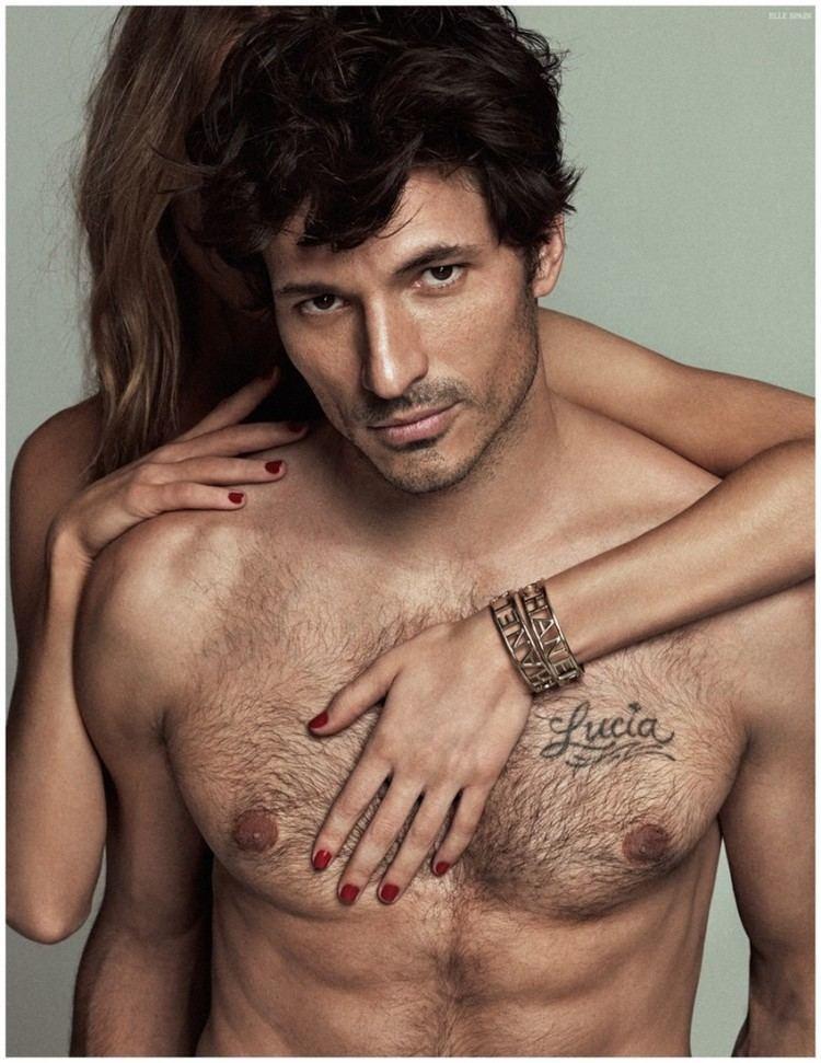 Andrés Velencoso Andres Velencoso Segura ifor April 2015 Elle Spain Cover Photo Shoot