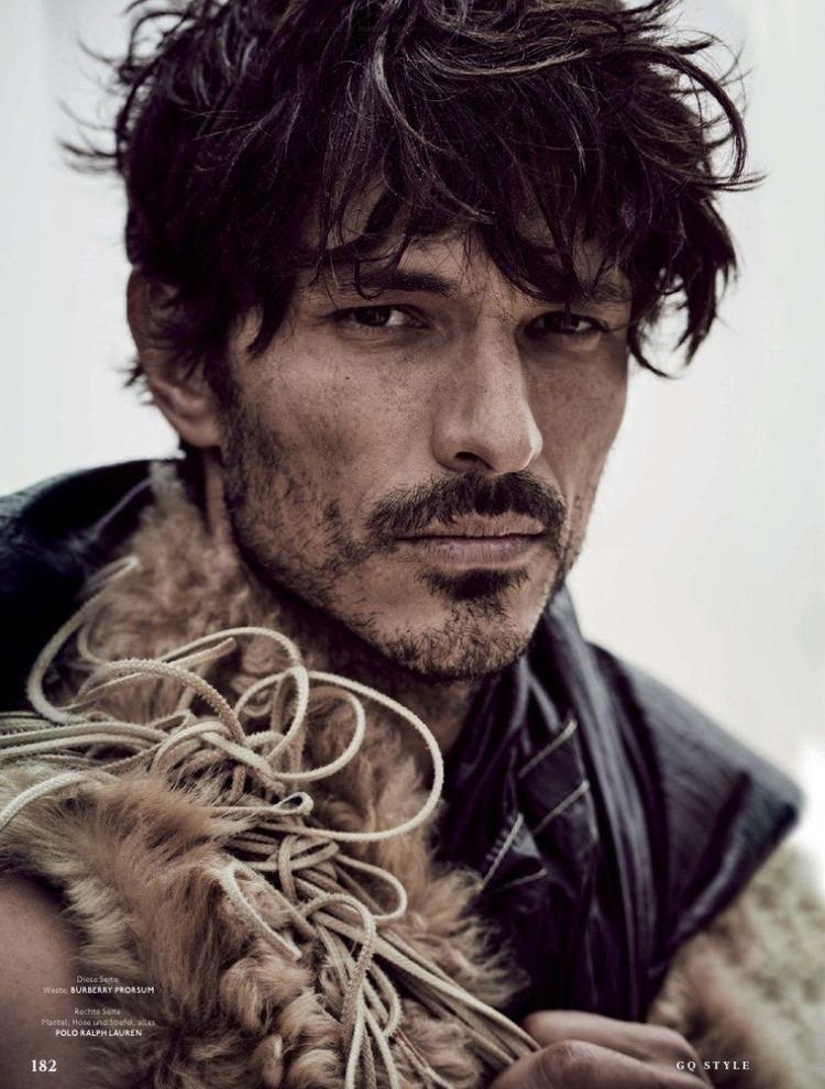 Andrés Velencoso Andres Velencoso Segura Dons Fall Coats for GQ Style Germany