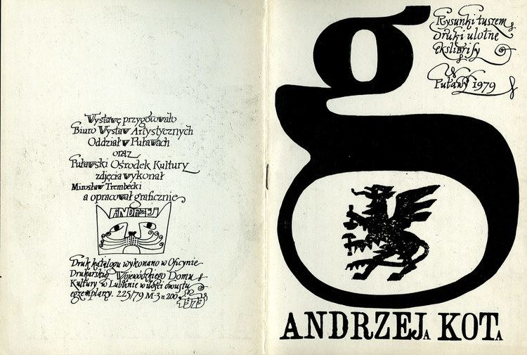 Andrzej Kot Andrzej Kot 19462015 wiadek Historii Program