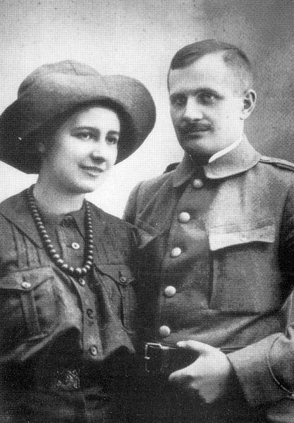 Andrzej Małkowski Olga Drahonowska Makowska i Andrzej Makowski