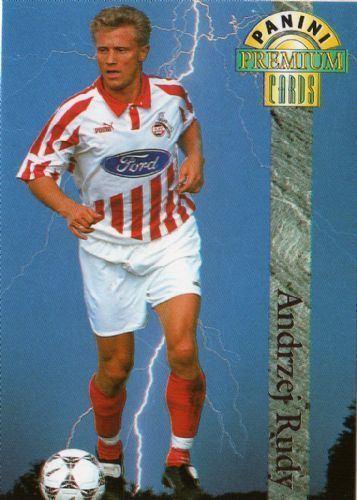 Andrzej Rudy 1 FC KOLN Andrzej Rudy 13 PANINI Premium Cards 1994