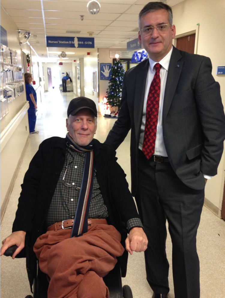 Andy Barrie Former Metro Morning host Andy Barrie battles Parkinsons with brain