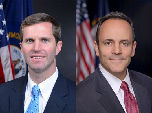 Andy Beshear Bevin Beshear Reignite Political Feud WKMS