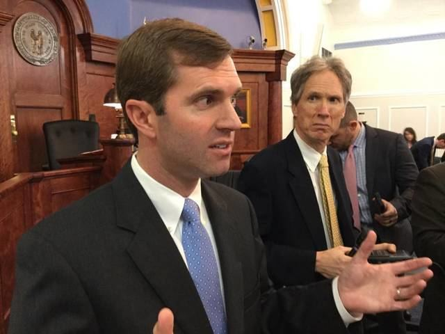 Andy Beshear Andy Beshear plans criminal charges against his former top deputy