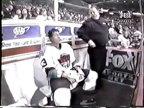 Andy Bezeau IHL Norm Batherson vs Andy Bezeau Jan 10 1998 YouTube