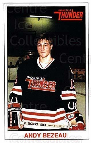 Andy Bezeau Hockey Card 1989-90 Niagara Falls Thunder #4 Andy Bezeau