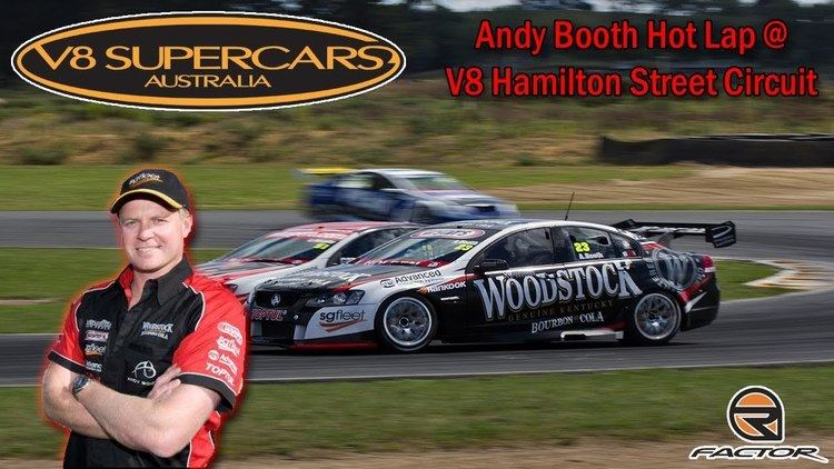 Andy Booth (racing driver) Andy Booth Hot Lap V8 Hamilton Street Circuit rFactor YouTube