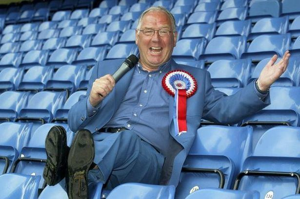 Andy Cameron Comedian Andy Cameron is banned from Forfars ground after slagging