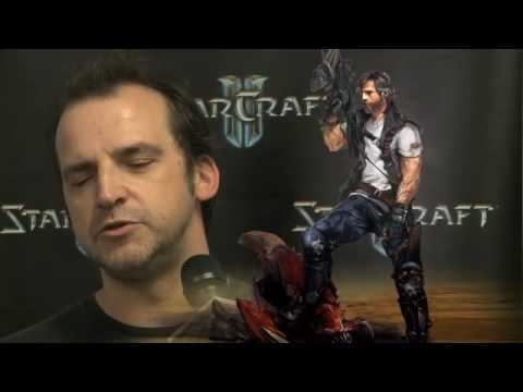 Andy Chambers StarCraft II BlizzCon 09 Andy Chambers Interview YouTube