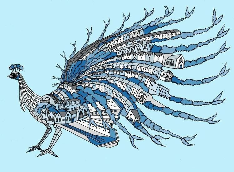 Andy Council Windmill Hill Peacock Print by Andy Council 45 The