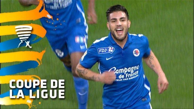 Andy Delort But Andy DELORT 14 SM Caen OGC Nice 12 116 de finale