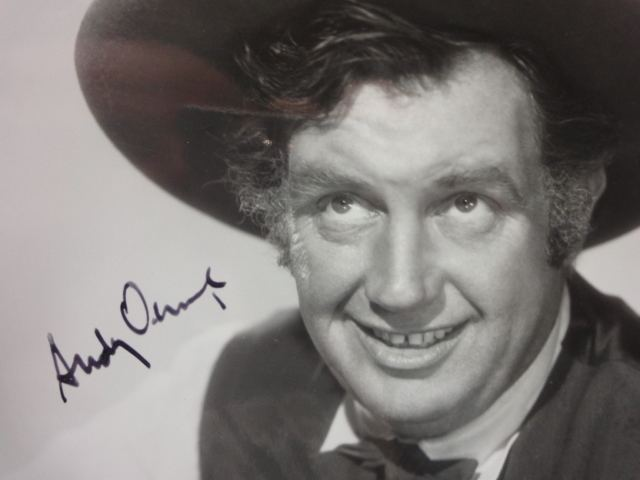 Andy Devine Andy Devine Publicity Photo Signed Autograph Guaranteed