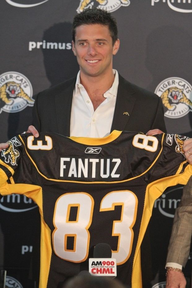 Andy Fantuz OSG Sports CFL Receiver Sets OneHanded Catch Record