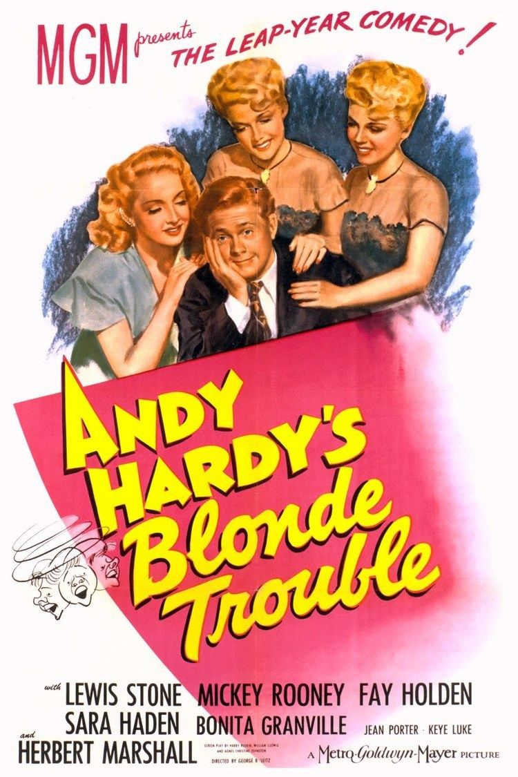 Andy Hardy's Blonde Trouble wwwgstaticcomtvthumbmovieposters39767p39767