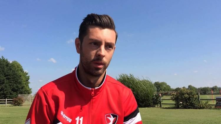 Andy Haworth Winger Andy Haworth on his oneyear deal at Cheltenham