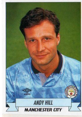 Andy Hill (footballer) MANCHESTER CITY Andy Hill 129 PANINI Football 93 Collectable