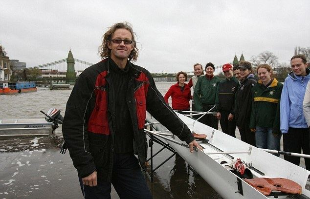 Andy Holmes Andy Holmes the rowing giant dies at the age of 51 Daily