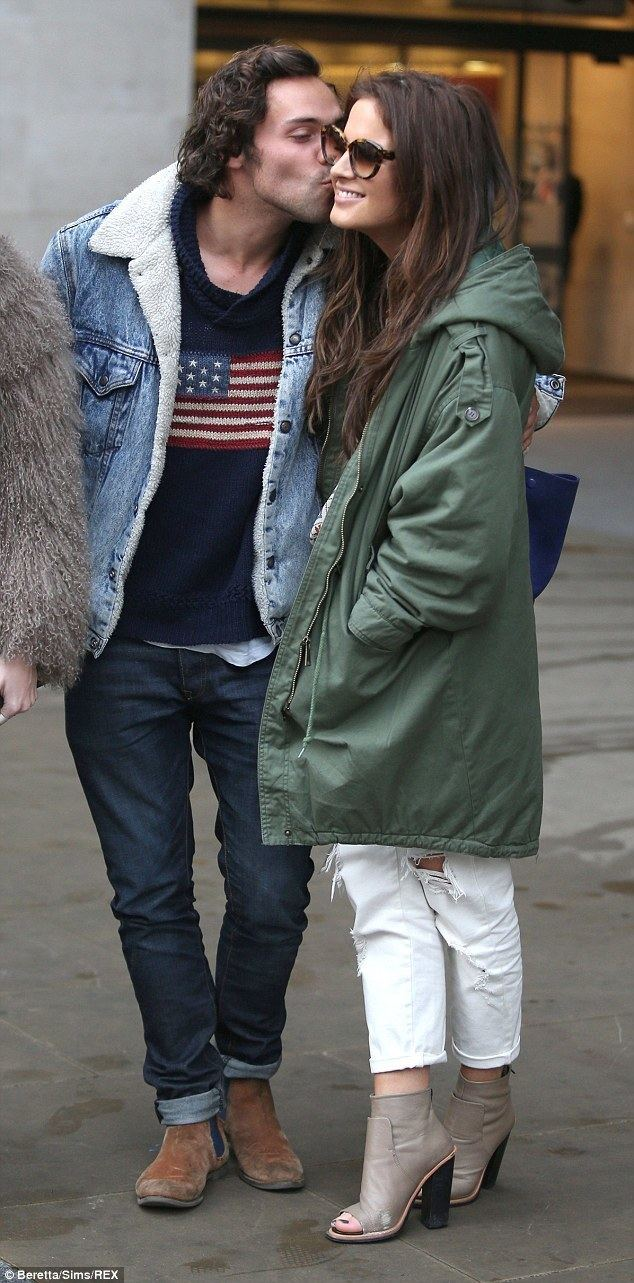 Andy Jordan (TV personality) Made in Chelsea39s Binky Felstead cuddles up to Andy Jordan